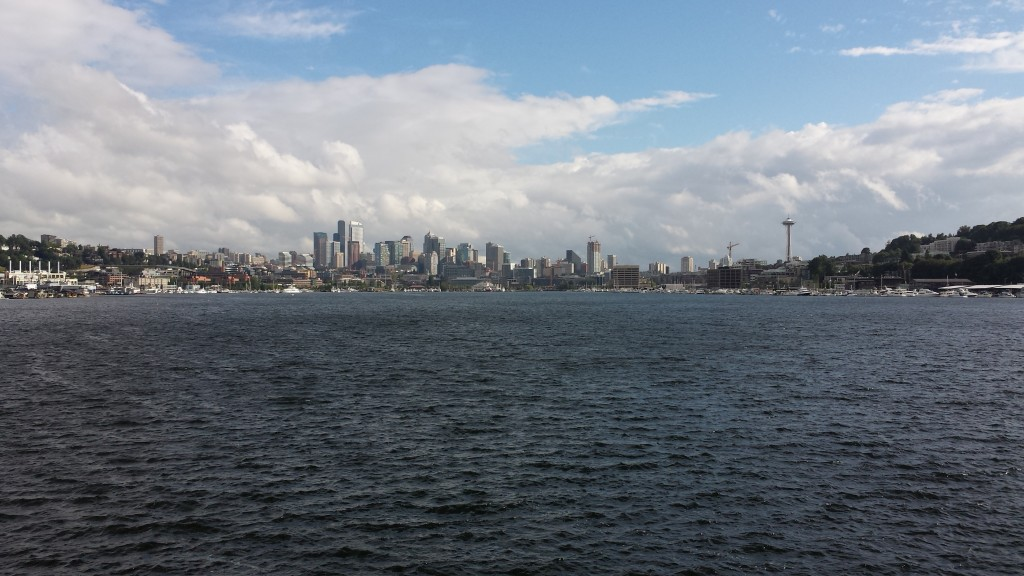 Seattle, WA - from Gas Works Park